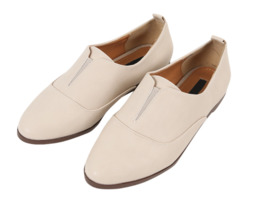 Paris Simple Loafers - Beige Size 245