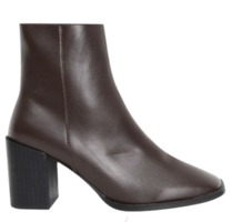 square toe ankle boots (3 colors)