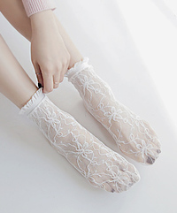 See-through Lovely Sox