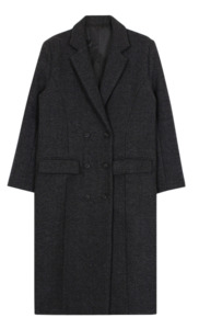 Herringbone long coat179000 → 99000