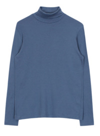 Tencel turtle-neck tee (5color) 長袖上衣