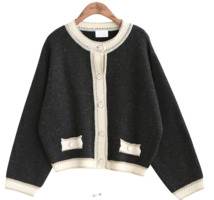 RETRO SHORT CARDIGAN