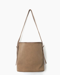 two way suede texture bag (3 colors)
