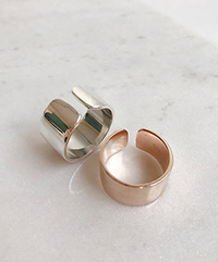 Wide silver ring silver925