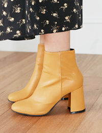 Fine ankle boots_K(size : 225,230,235,240,245,250)