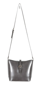 Belted point cross bag