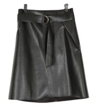 Neo Leather Skirt