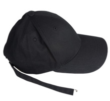 Long strap ball cap