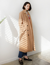 Tailor double long coat_B (size : free)
