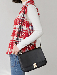 Gentle classic buckle bag_H (size : one)