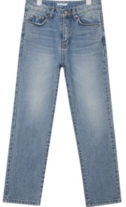 seasonless tapered denim pants