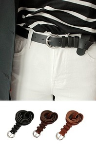 Real-leather (belt)