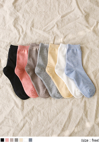 SOFT COLOR GOLGI SOCKS
