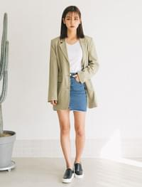 natural mood linen  jacket