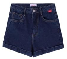 Heart Pocket Denim Shorts
