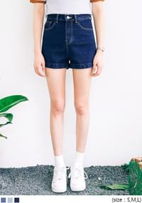 AA ROLL UP DENIM SHORTS