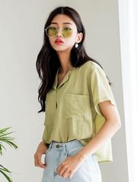 mint two pocket shirt
