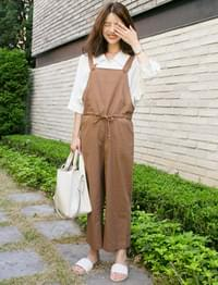 Champ linen overall pants_K (size : free)