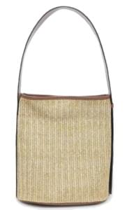 rattan bucket bag (2 colors)