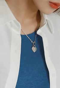 Stainless heart necklace