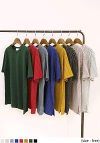 8 COLOR COZY STRIPE 1/2 T