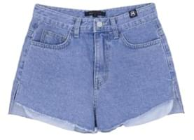 HIDE Slit Pocket Denim Short Pants