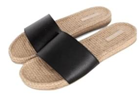 Straw slipper (5color)