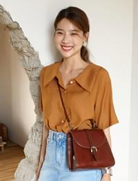 Cashew wide collar blouse_S (size : free)