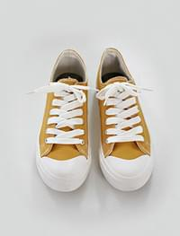 natural cotton sneakers