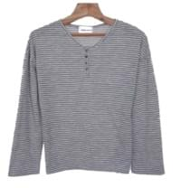 Henry-striped tee
