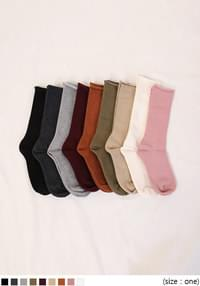 9 COLOR ROLL COTTON SOCKS