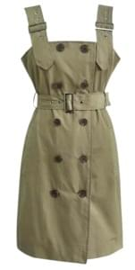 POLIN DOUBLE BUTTON TRENCH OPSWITH CELEBRITY