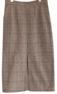 [SKIRT] DAB WOOL CHECK SET SKIRT