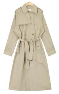 polished wear trench coat
