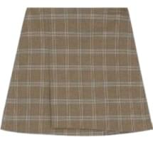 Rimshams check skirt