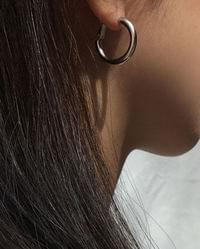 rounding curve earring