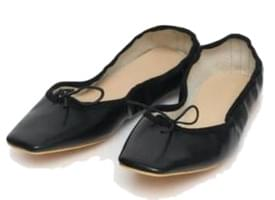 adorable ribbon flat shoes (230-250)