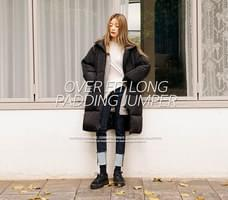 [OUTER] OVER FIT LONG PADDING JUMPER