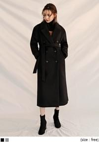 [OUTER] MANNISH WOOL LONG COAT