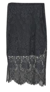Venus-lace skirt