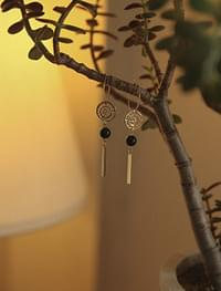 dreamcatcher shape earring