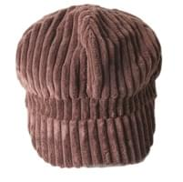 End corduroy hunting cap