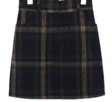 WARM CHECK SKIRT - 2 TYPE