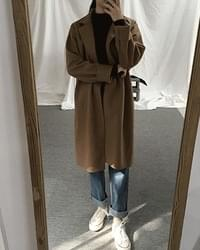Wool single coat - wool 35%