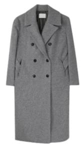 Pine wool long coat