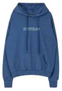Front Lettering Hoodie