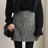 Gladi - tweed skirt