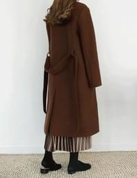 Milan wool double coat