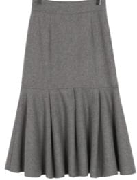 Made_bottom-138_mermaid wool skirt_B (size : S,M)
