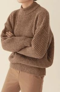 Shop-Mock Neck Knit